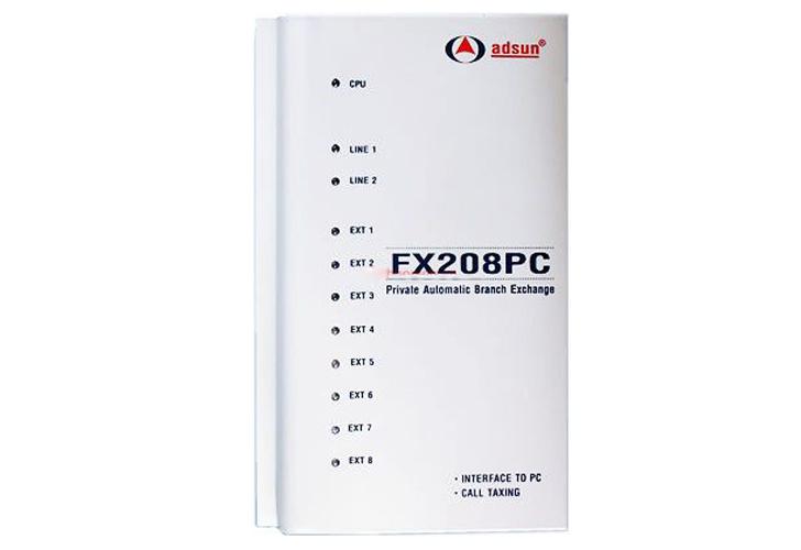 Tổng Đài Điện Thoại ADSUN FX208PC