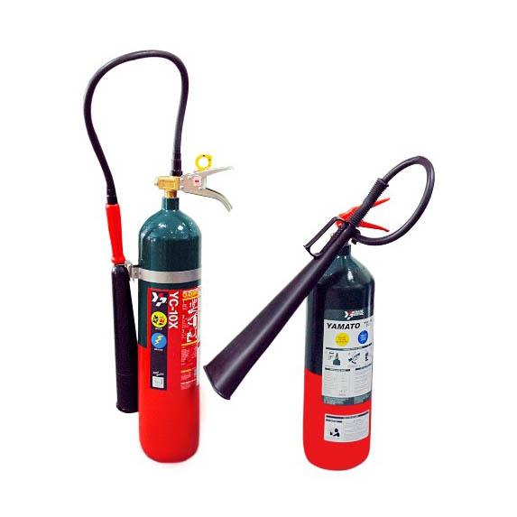 Bình chữa cháy Nhật Bản CO2 4 6kg YYC-10C